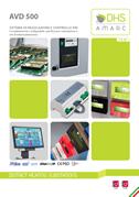 Hardware AVD 500 sistema di regolazione Amarc DHS.