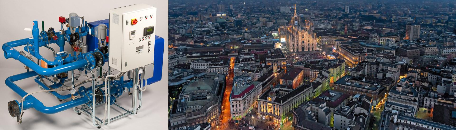 Le sottostazioni di teleriscaldamento AMARC DHS riscaldano il Duomo e la Galleria di Milano